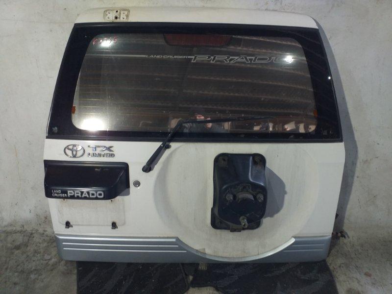 Дверь задняя Toyota Land Cruiser Prado KZJ95 1KZTE 1997.09 (б/у)