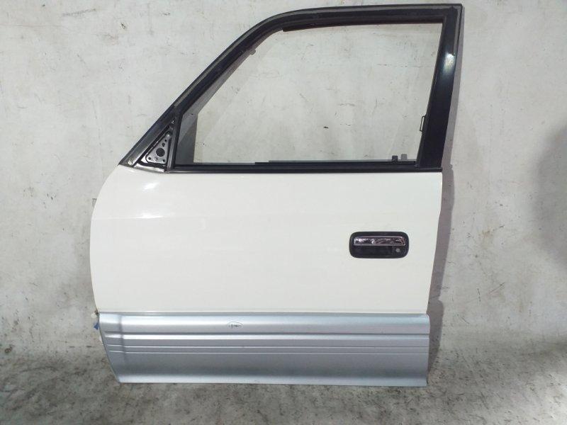 Дверь боковая Toyota Land Cruiser Prado KZJ95 1KZTE 1997.09 передняя левая (б/у)