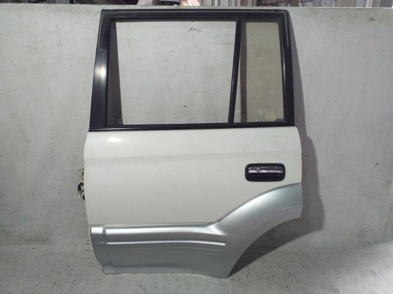 Дверь боковая Toyota Land Cruiser Prado KZJ95 1KZTE 1997.09 задняя левая (б/у)