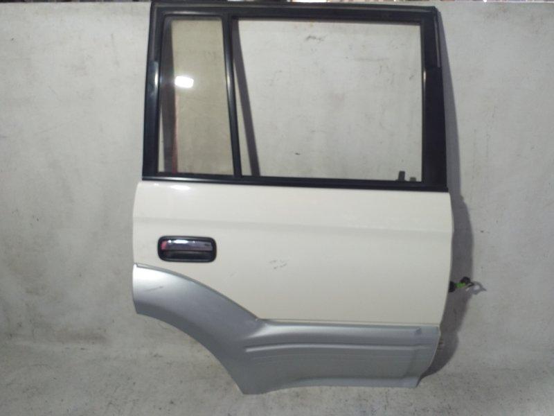 Дверь боковая Toyota Land Cruiser Prado KZJ95 1KZTE 1997.09 задняя правая (б/у)
