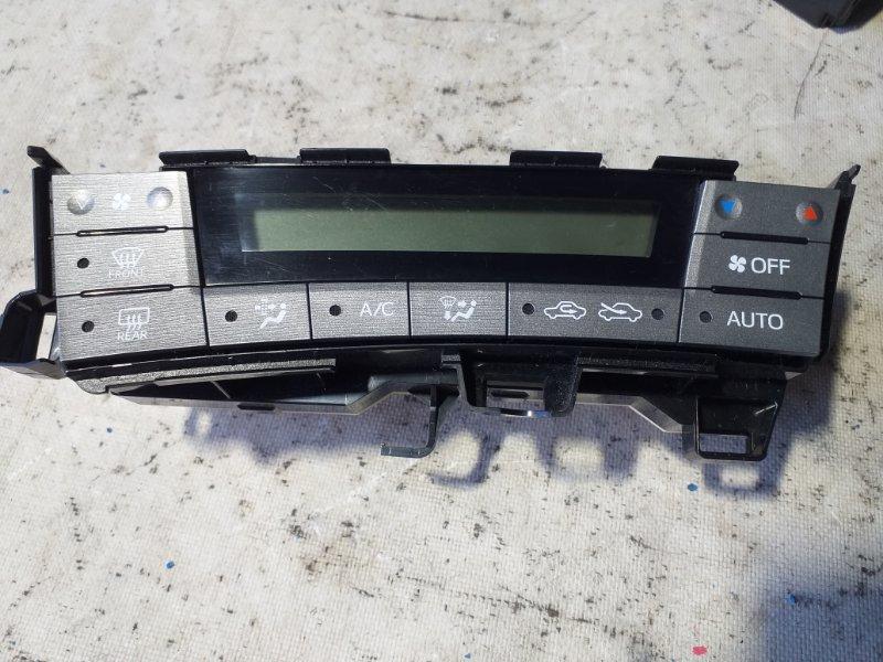 Блок управления климат-контролем Toyota Prius ZVW30 2ZR-FXE 2012.03 (б/у)
