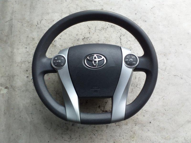 Руль Toyota Prius ZVW30 2ZR-FXE 2012.03 (б/у)