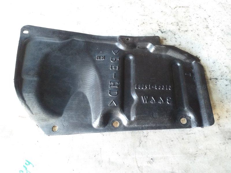 Защита двигателя Toyota Prius ZVW30 2ZR-FXE 2012.03 передняя правая (б/у)