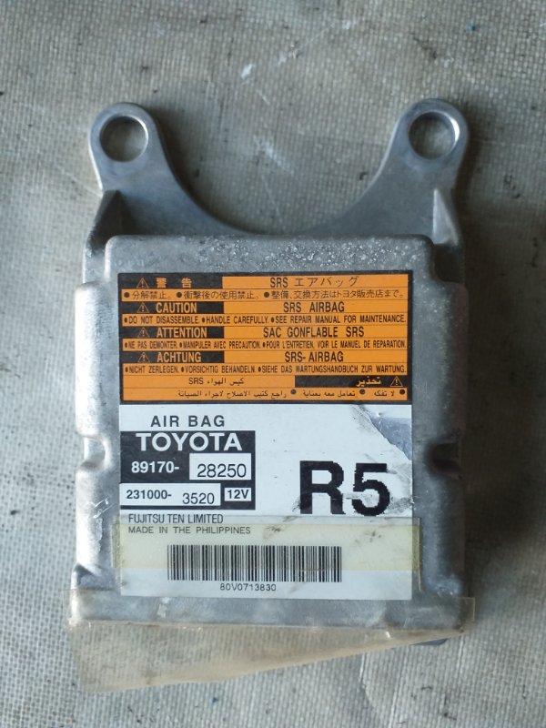 Блок управления airbag Toyota Voxy AZR65 1AZ-FSE 2007.02 (б/у)