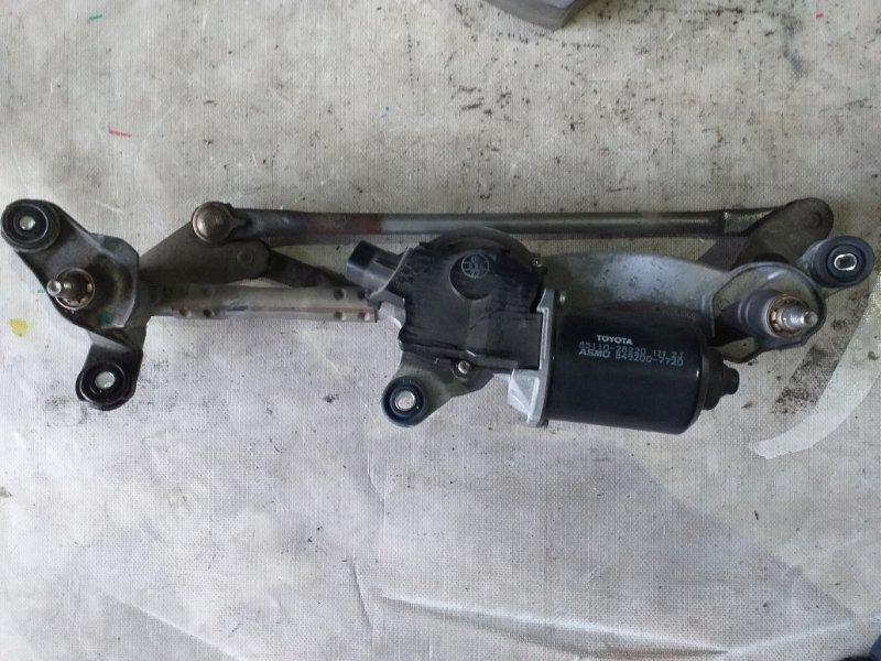 Мотор дворников Toyota Voxy AZR65 1AZ-FSE 2007.02 (б/у)