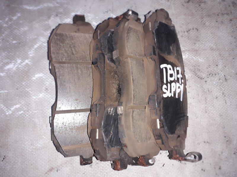 Тормозные колодки Nissan Sylphy TB17 MRA8DE 2013 переднее (б/у)