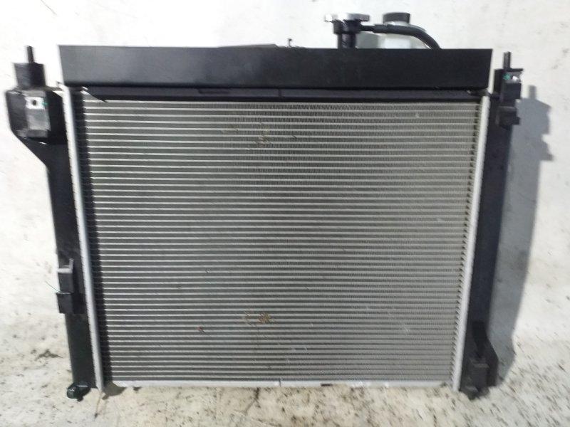 Радиатор двс Nissan Sylphy TB17 MRA8DE 2013 (б/у)