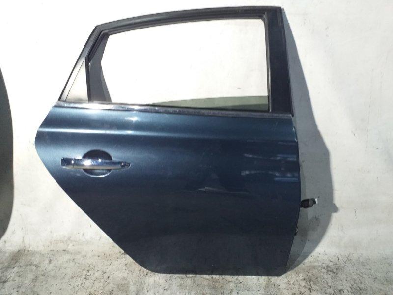 Дверь боковая Nissan Sylphy TB17 MRA8DE 2013 задняя правая (б/у)