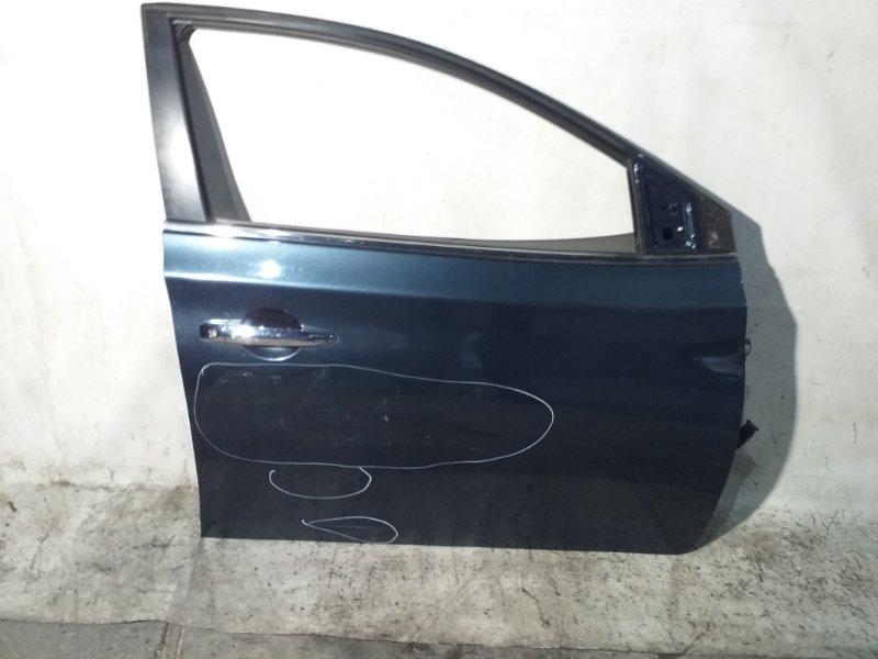 Дверь боковая Nissan Sylphy TB17 MRA8DE 2013 передняя правая (б/у)