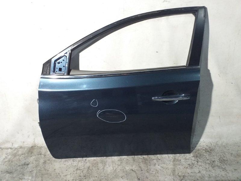 Дверь боковая Nissan Sylphy TB17 MRA8DE 2013 передняя левая (б/у)