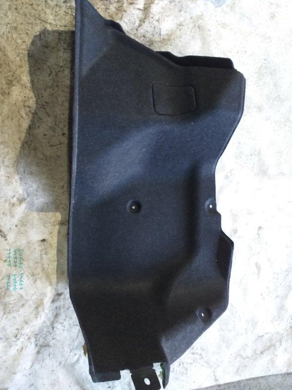 Обшивка багажника Nissan Sylphy TB17 MRA8DE 2013 задняя правая (б/у)