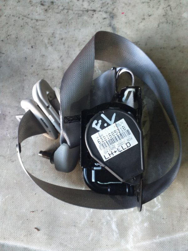 Ремень безопасности Nissan Sylphy TB17 MRA8DE 2013 передний левый (б/у)