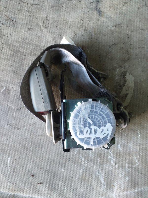 Ремень безопасности Nissan Sylphy TB17 MRA8DE 2013 задний (б/у)