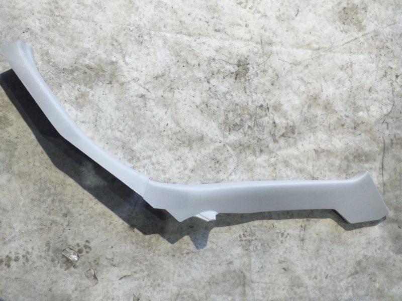 Накладка на порог салона Nissan Sylphy TB17 MRA8DE 2013 задняя правая (б/у)