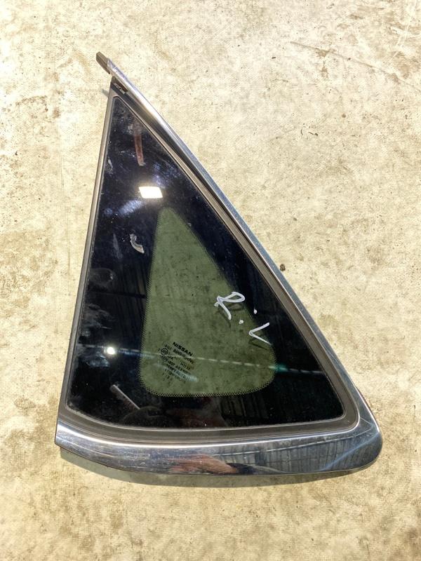 Форточка кузова Nissan Sylphy TB17 MRA8DE 2013 задняя левая (б/у)