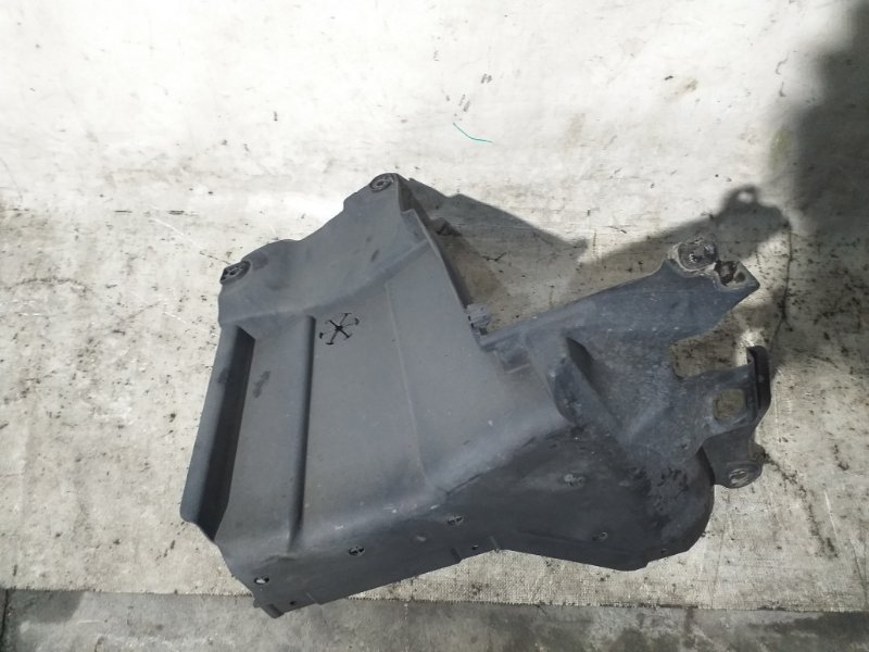 Защита двигателя Honda Fit GP6 LEB 2014 передняя правая (б/у)