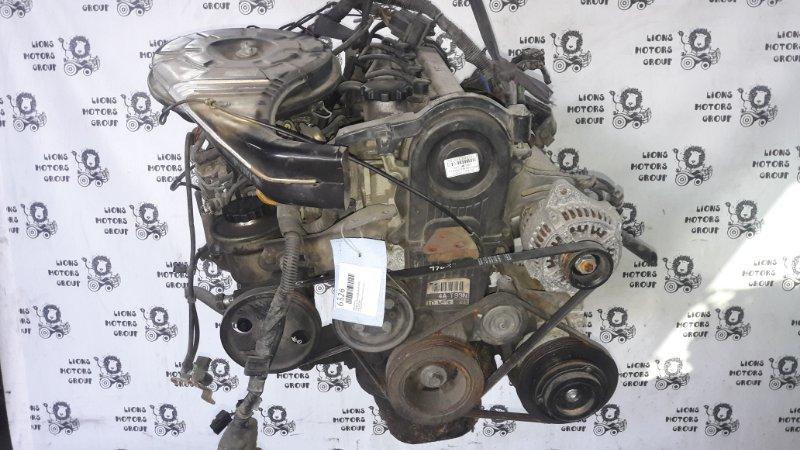 двигатель TOYOTA SPRINTER 4A8370308 куз. AE92 двг. 4AFE