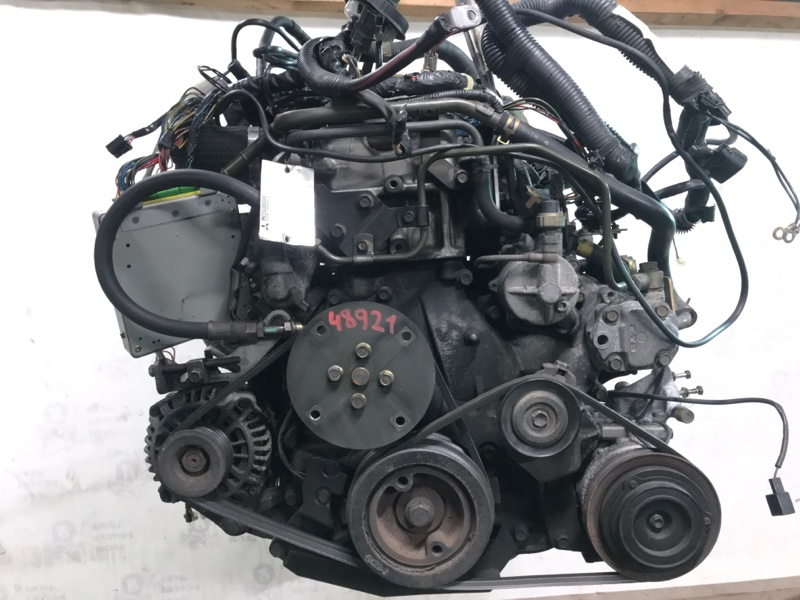Двигатель Mitsubishi Pajero V46W 4M40 1996 (б/у)