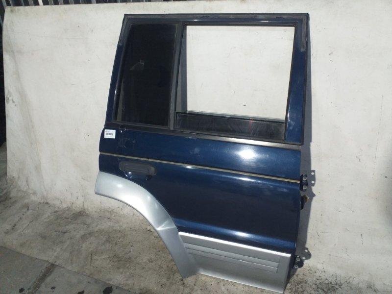Дверь боковая Mitsubishi Pajero V46W 4M40 1996 задняя правая (б/у)