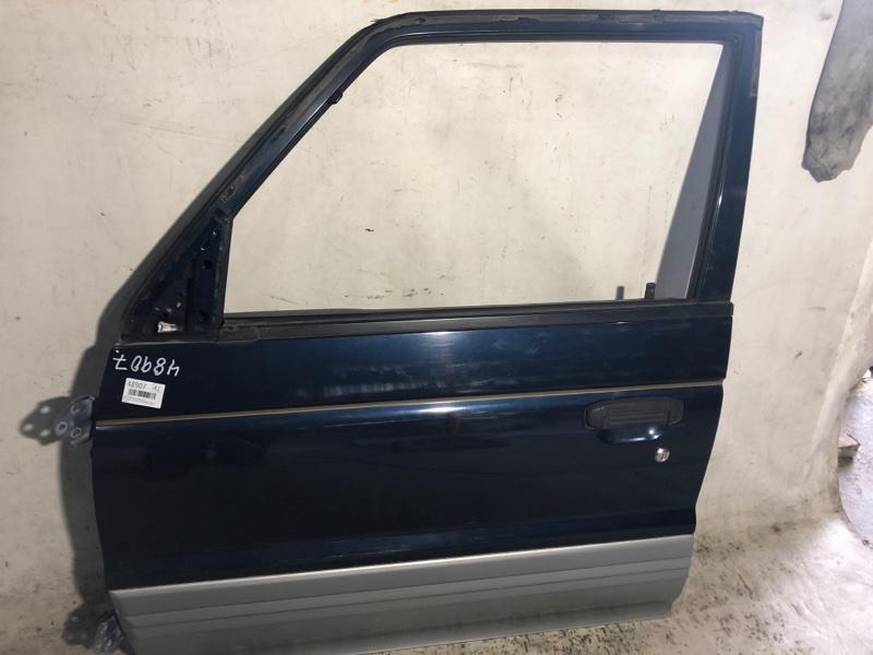 Дверь боковая Mitsubishi Pajero V46W 4M40 1996 передняя левая (б/у)