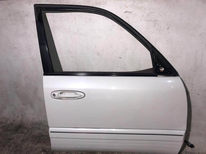 Дверь боковая Toyota Land Cruiser HDJ101 1HDFTE 2001.04 передняя правая (б/у)