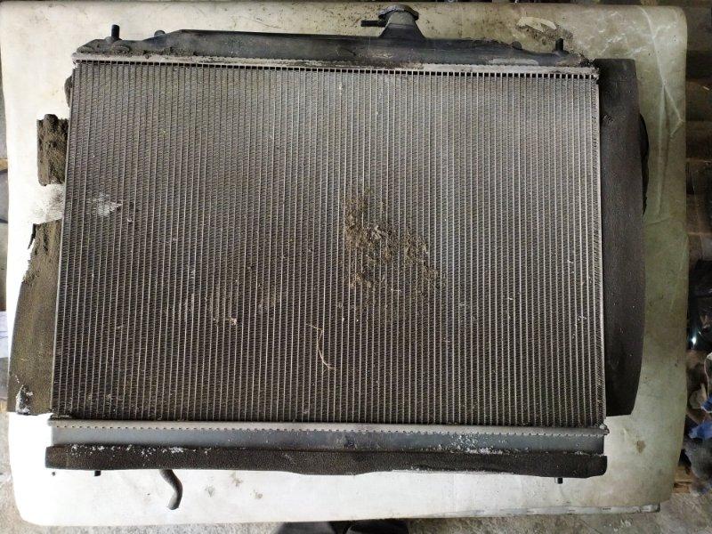 Радиатор двс Nissan Serena C25 MR20DE (б/у)
