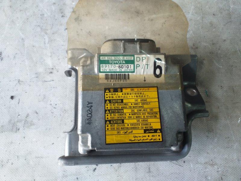 Блок управления airbag Toyota Land Cruiser HDJ101 1HDFTE 2001.04 (б/у)