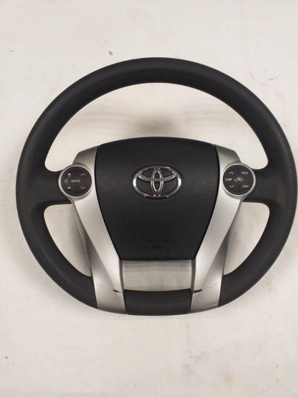Руль Toyota Prius ZVW30 2ZR-FXE 2013 (б/у)