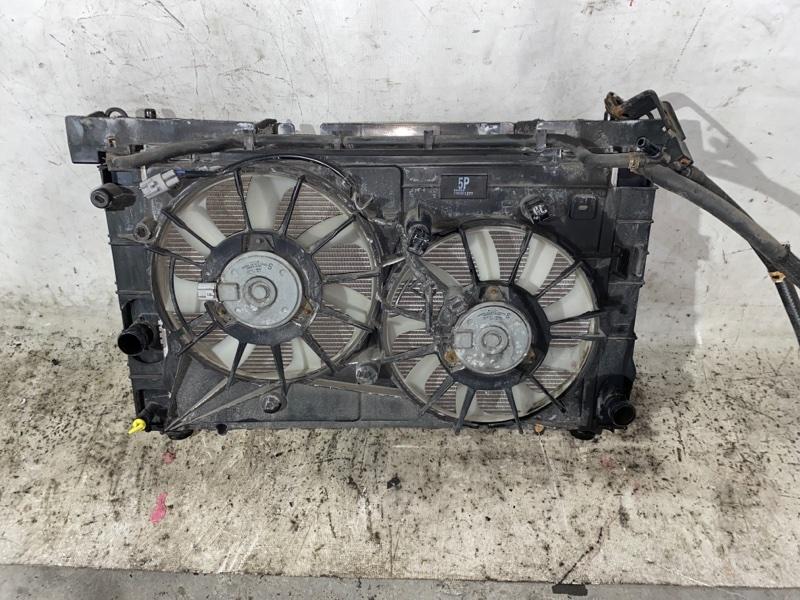 Радиатор двс Toyota Prius ZVW30 2ZR-FXE 2013 (б/у)