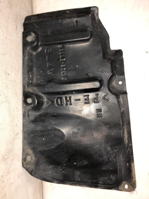 Защита двигателя Toyota Prius ZVW30 2ZR-FXE 2013 передняя правая (б/у)