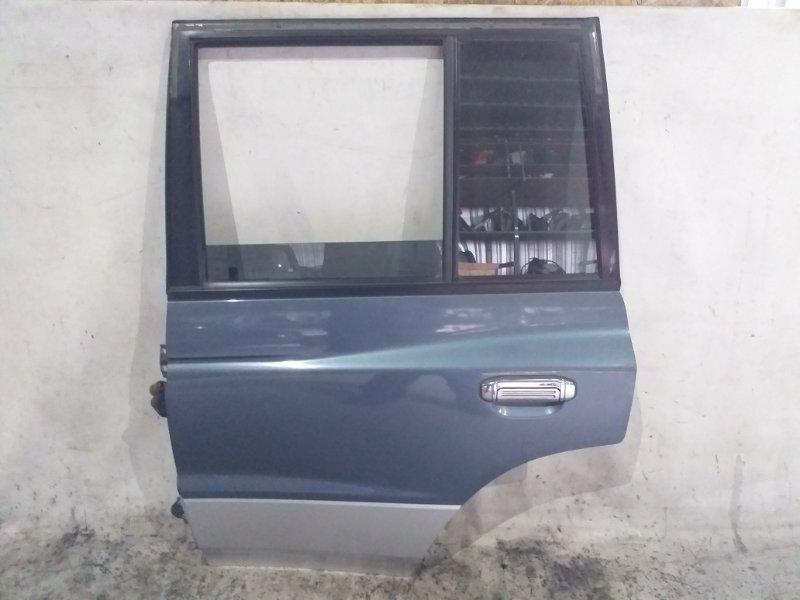 Дверь боковая Mitsubishi Pajero V45W 6G74 1997.11 задняя левая (б/у)