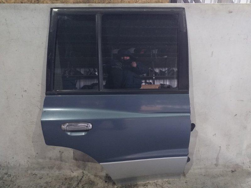 Дверь боковая Mitsubishi Pajero V45W 6G74 1997.11 задняя правая (б/у)