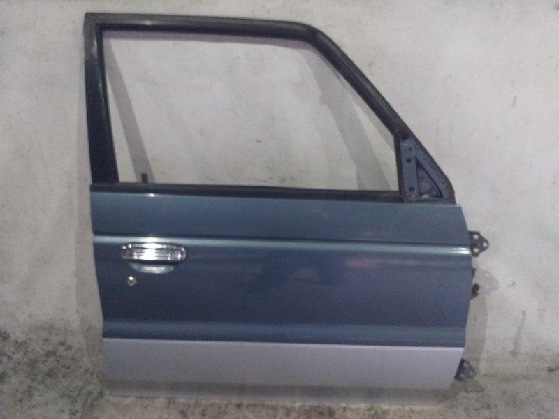 Дверь боковая Mitsubishi Pajero V45W 6G74 1997.11 передняя правая (б/у)