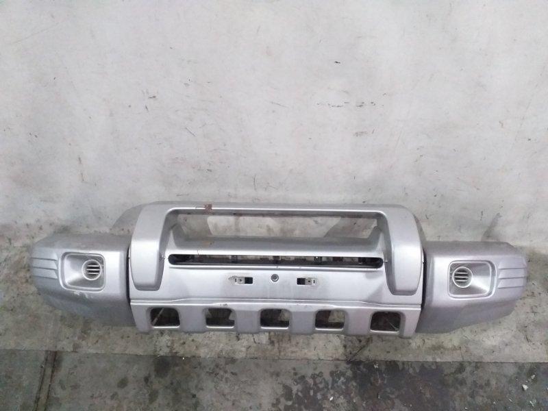 Бампер Mitsubishi Pajero V45W 6G74 1997.11 передний (б/у)