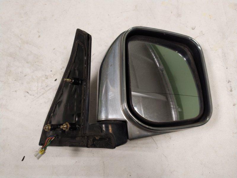 Зеркало Mitsubishi Pajero V45W 6G74 1997.11 переднее правое (б/у)