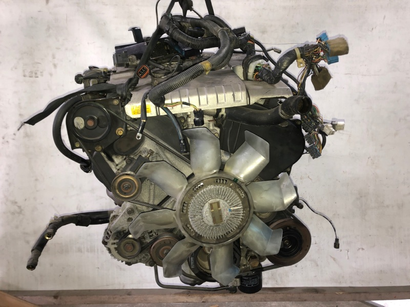 Двигатель Mitsubishi Pajero V45W 6G74 1997.11 (б/у)