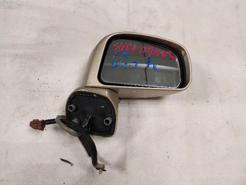 Зеркало Nissan Tiida SNC11 правое (б/у)