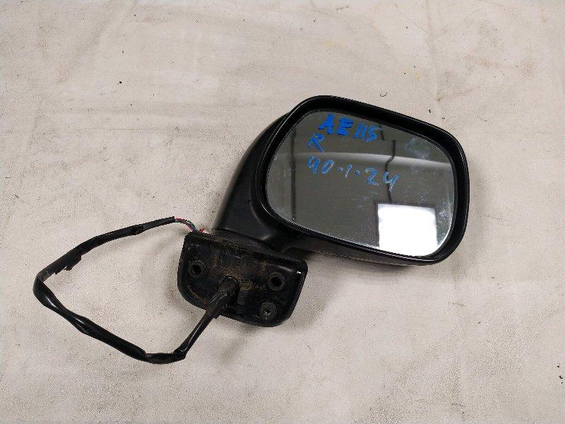 Зеркало Toyota Corolla Spacio AE115 правое (б/у)