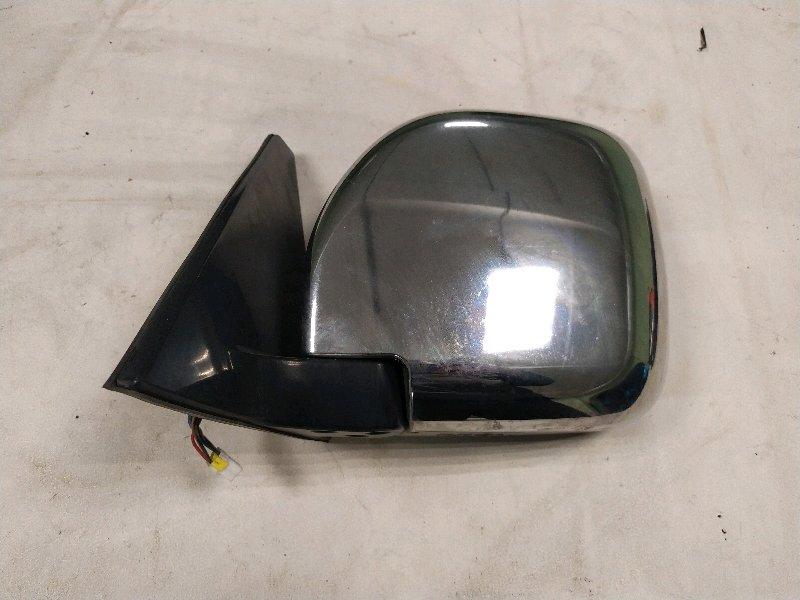 Зеркало Mitsubishi Pajero V78W левое (б/у)