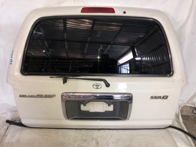Дверь задняя Toyota Hilux Surf KDN185 1KD-FTV 08.2000 задняя (б/у)