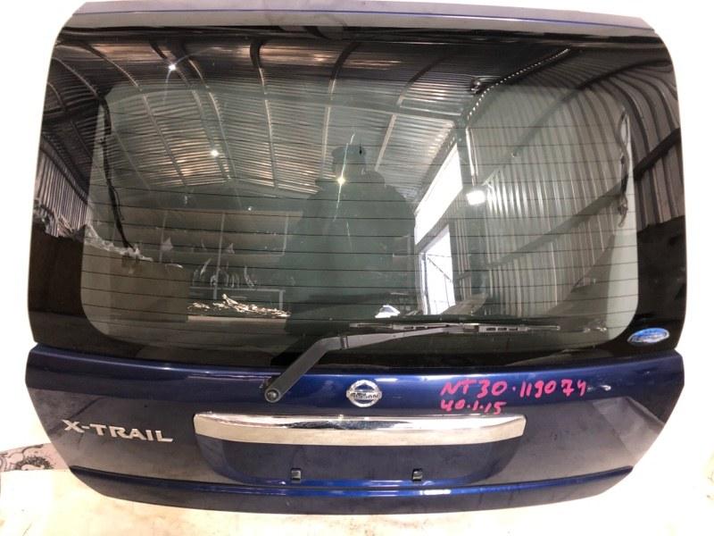 Дверь задняя Nissan X-Trail NT30 QR20 02.2004 задняя (б/у)