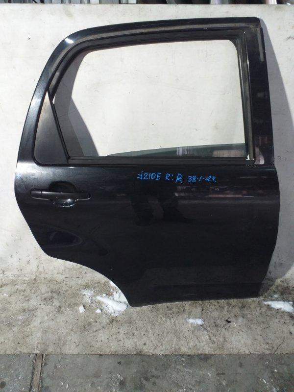 Дверь боковая Toyota Rush J210E задняя правая (б/у)
