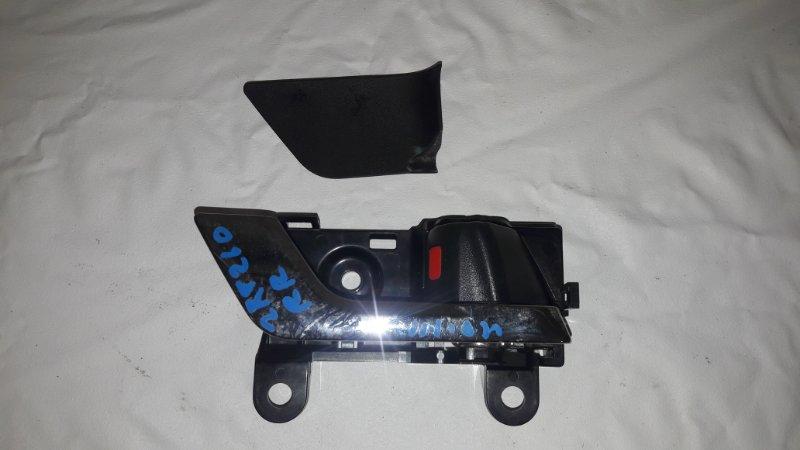 Ручка двери внутренняя Toyota Premio ZRT260 задняя правая (б/у)