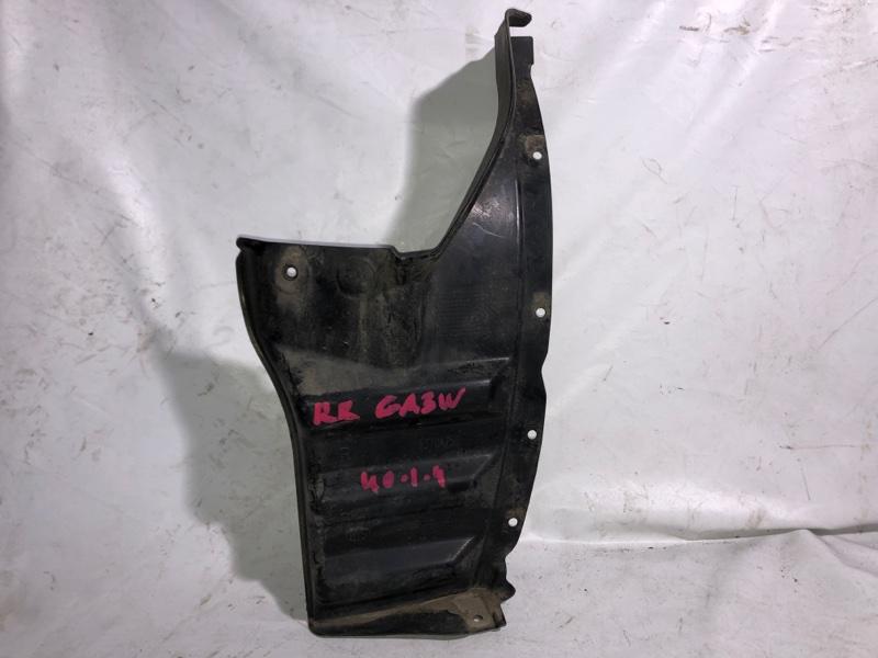 Подкрылок Mitsubishi Rvr GA3W 4B10 задний правый (б/у)