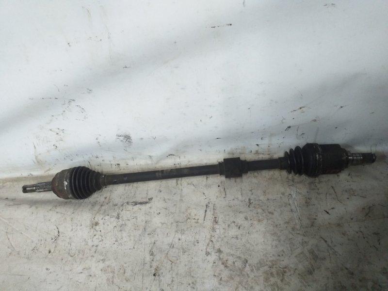 Привод Nissan Tiida Latio SNC11 HR15DE передний правый (б/у)