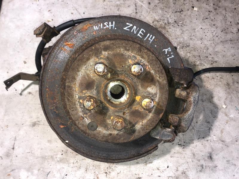 Ступица Toyota Wish ZNE14 1ZZ 2005.02 задняя левая (б/у)
