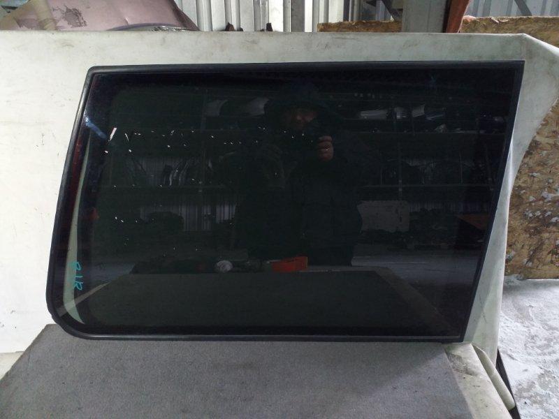 Стекло багажника Mitsubishi Pajero V45W 6G74 1997.11 заднее правое (б/у)