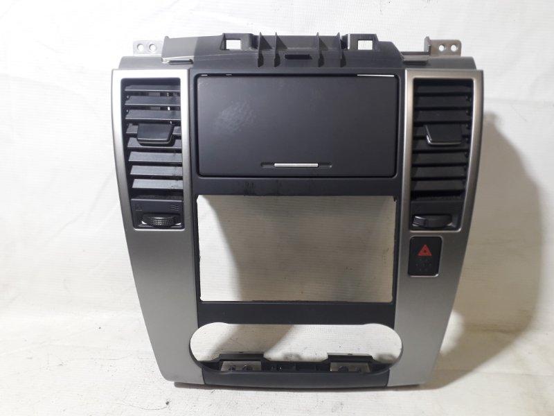 Консоль магнитофона Nissan Tiida NC11 HR15DE 01.2008 (б/у)