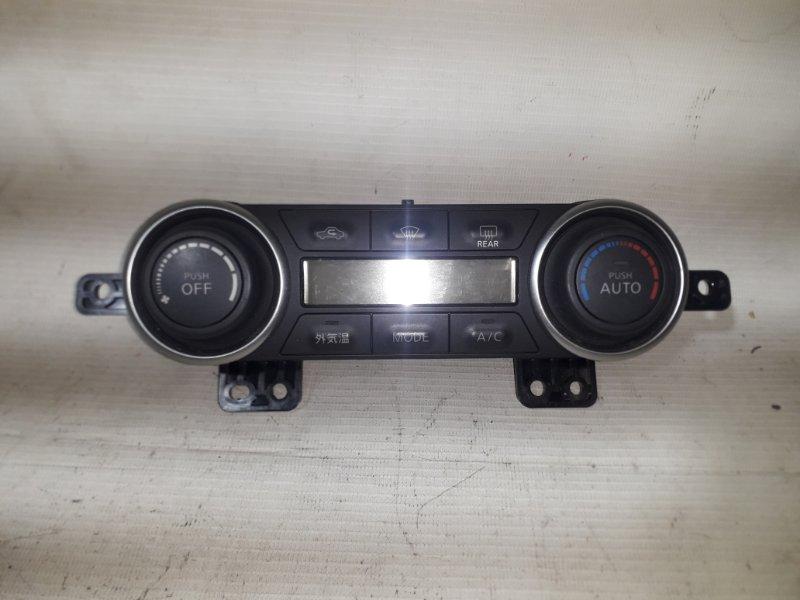 Блок управления климат-контролем Nissan Tiida NC11 HR15DE 01.2008 передний (б/у)