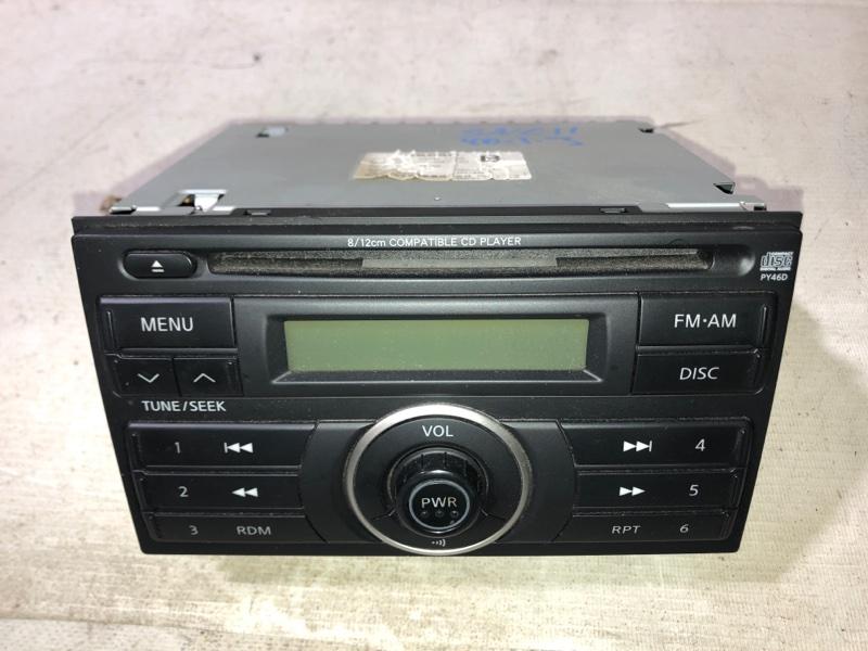 Магнитофон Nissan Tiida Latio SNC11 HR15DE 10.2008 (б/у)